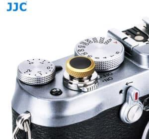 ปุ่มกดชัตเตอร์ JJC ดำทอง Deluxe Soft Release Black-Gold