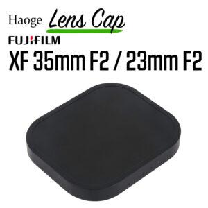 ฝาครอบฮูดเลนส์ Fuji 35mm F2 และ Fuji 23mm F2