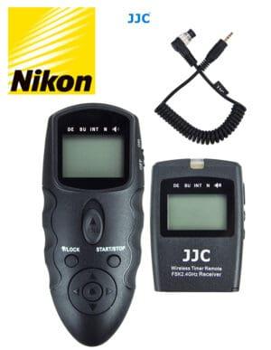 สายลั่นชัตเตอร์ Nikon D850 D500 D810 D800E D6 D5 รีโมท ไร้สาย JJC WT868 Wireless Shutter Timer Remote Control for Nikon MC-30