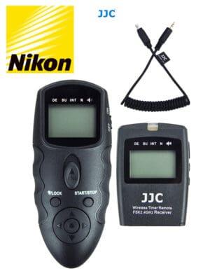 สายลั่นชัตเตอร์ Nikon Z5 Z6II Z7II Z6 Z7 รีโมท ไร้สาย JJC WT868 Wireless Shutter Timer Remote Control for Nikon MC-DC2