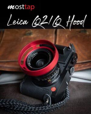 ฮูด Leica Q2 QP Q Red mostTap ฮูดเลนส์แบบกลม