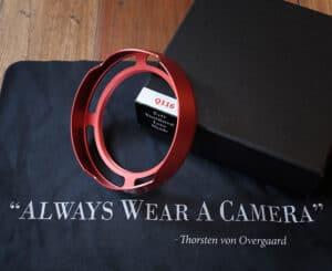ฮูด Overgaard Leica Q2 QP Q Red