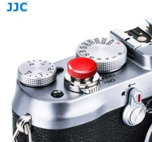 ปุ่มกดชัตเตอร์ JJC แดง Deluxe Soft Release Red