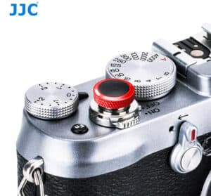 ปุ่มกดชัตเตอร์ JJC แดงดำ Deluxe Soft Release Red-Black