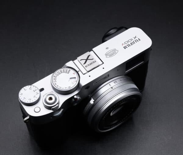 Hot Shoe Cover Fuji สีเงิน ปิดช่องแฟลชสำหรับกล้อง Fuji X-series X100V XT4 XPRO3