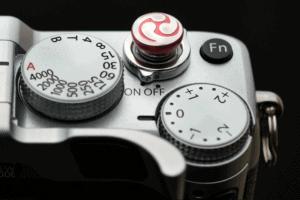 Soft Release Lensmate Tri Tadpole Red ปุ่มชัตเตอร์ ใบพัด สีแดง