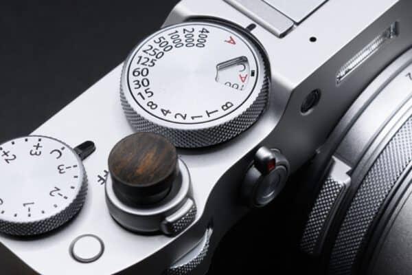 ปุ่มชัตเตอร์ไม้ King Shutter Soft Release Fuji X100V X100F XPRO3 XPRO2 XT4 XT3 XT30 XT20 XE3