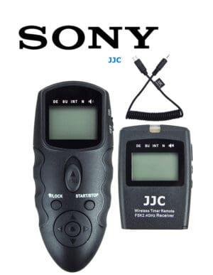 สายลั่นชัตเตอร์ Sony A7III A7RIV A7RIII A7SIII A9II A9 รีโมท ไร้สาย JJC WT868 Wireless Shutter Timer Remote Control