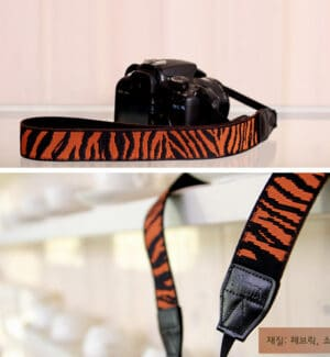สายคล้องกล้อง Ciesta Zebra Orange