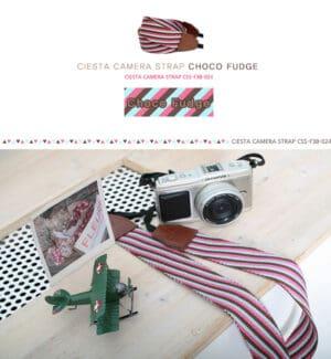 สายคล้องกล้อง Ciesta Choco Fudge