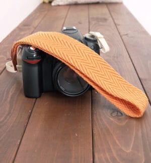 สายคล้องกล้อง Ciesta Cozy Orange