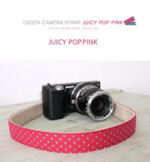 สายคล้องกล้อง Ciesta Juicy PopPink
