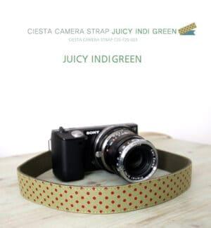 สายคล้องกล้อง Ciesta Juicy IndiGreen