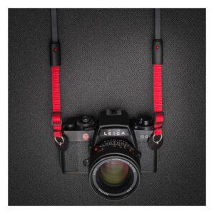 สายคล้องกล้อง DeadCameras Black/Red AllFit Strap