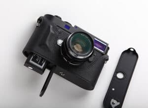 Leather Half Case Leica M10 Black Premium Edition