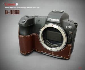 เคส Lim Canon EOS R สีน้ำตาล
