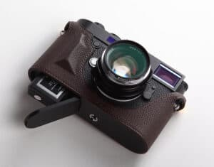 Leather Half Case Leica M10 Premium Edition Brown