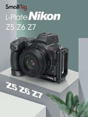 SmallRig L-Plate Nikon Z5 Z6 Z7 Z6II Z7II