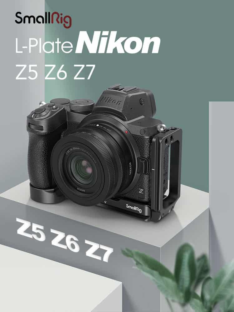 SmallRig L-Plate for Nikon Z5 Z6 Z7 Z6II Z7II
