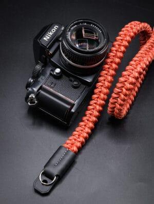 สายคล้องกล้อง Small Liberty Red White Large เส้นใหญ่