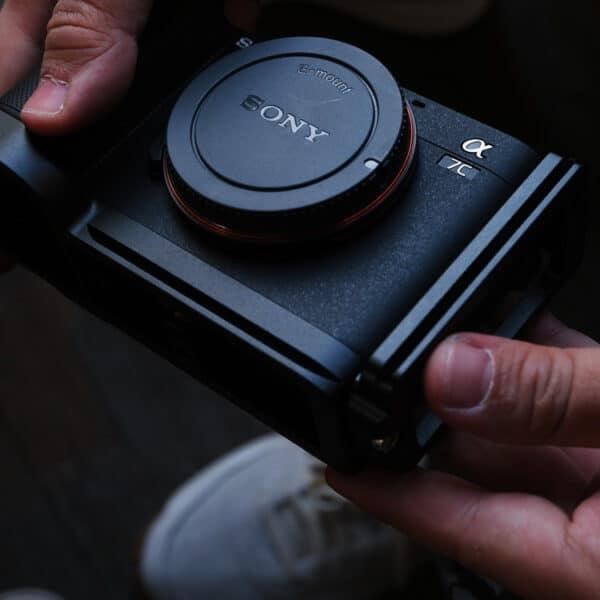 L-Plate Sony A7C สีดำ