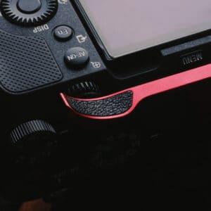 ที่พักนิ้ว Sony A7C สีแดง Thumb Rest Red