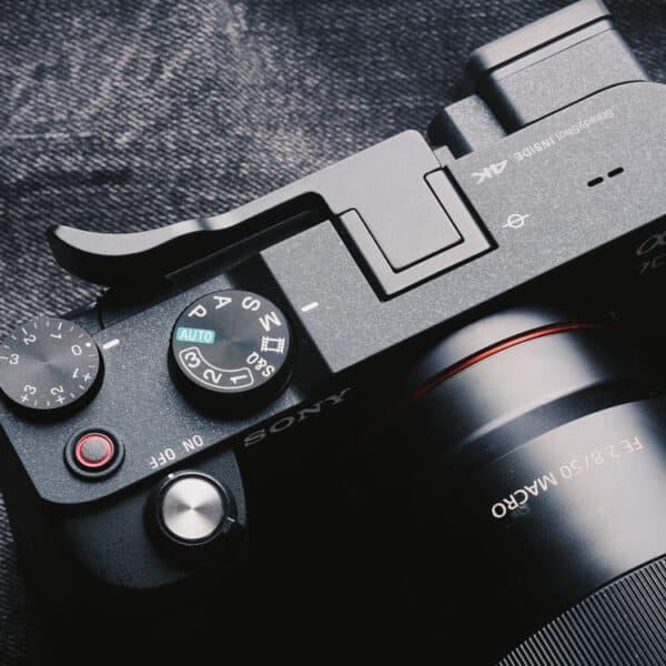 ที่พักนิ้ว Thumb Rest Sony A7C สีดำ