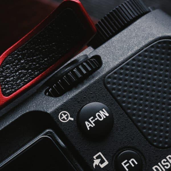 ที่พักนิ้ว Thumb Rest Sony A7C สีแดง