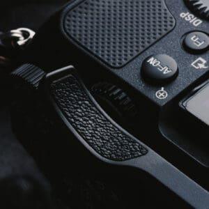 ที่พักนิ้ว Sony A7C สีดำ Thumb Rest Black