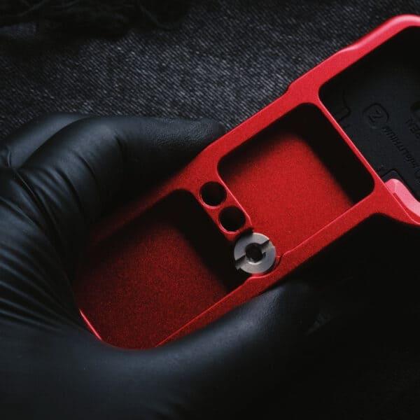 L-Plate Sony A7C สีแดง