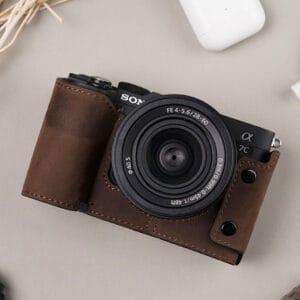 เคสกล้อง Sony A7C Mr.Stone สีน้ำตาล