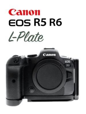 L-Plate Canon EOS R5 R6