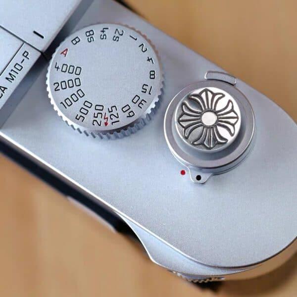 ปุ่มชัตเตอร์เงินแท้ Soft Release Button