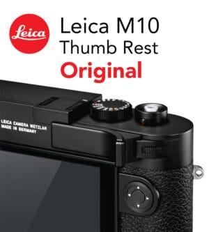 Leica M10 Thumb Support Black ที่พักนิ้วของแท้ (Original)