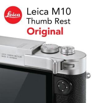 Leica M10 Thumb Support Silver ที่พักนิ้วของแท้ (Original)