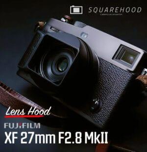 SquareHood Fuji 27mm F2.8 MkII Lens Hood ฮูดเหลี่ยม