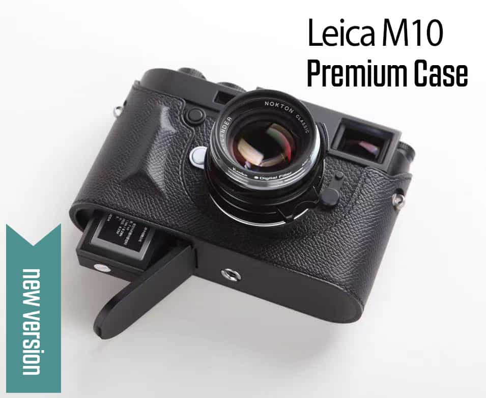 เคส Leica M10R M10 M10P สีดำ Premium Case