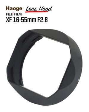 ฮูด Fuji 16-55mm F2.8 จาก Haoge Lens Hood LH-X165