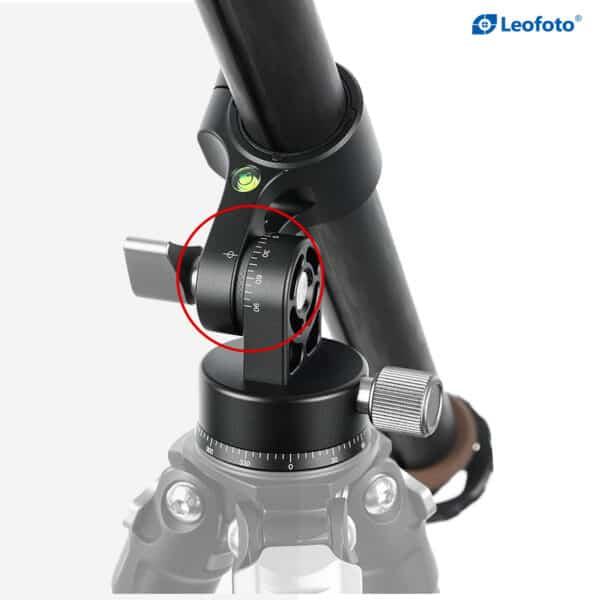 LeoFoto HC32 TOP VIEW CARBON FIBER CENTER COLUMN