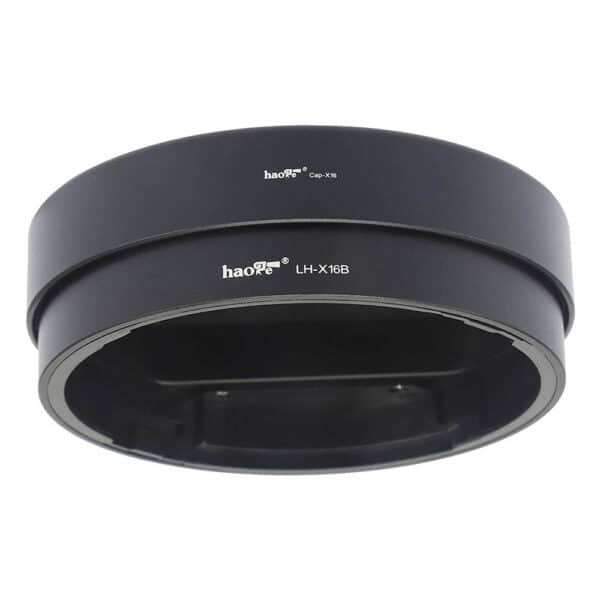 ฮูด Fuji 16mm f1.4 Haoge LH-X16B Lens Hood