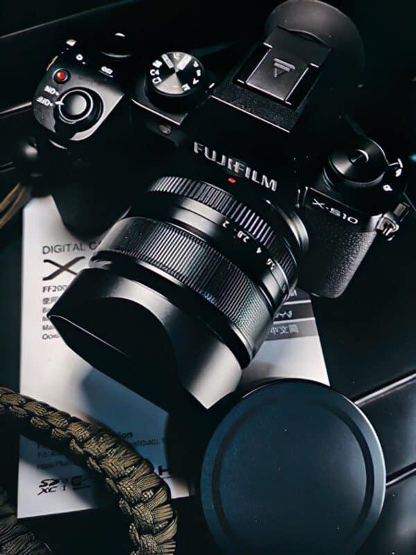 ฮูด Fuji 35mm F1.4 Haoge Lens Hood LH-X53B ฮูดเหลี่ยมจาก Haoge รุ่นใหม่ล่าสุด