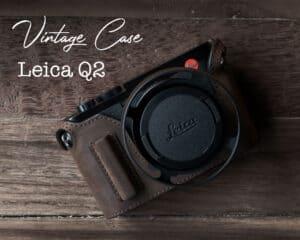 เคส Leica Q2 Mr.Stone สี Vintage Brown