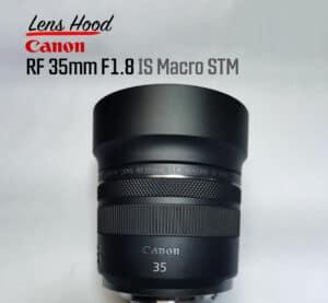 ฮูดเลนส์ Canon RF35mm F1.8 Metal Hood
