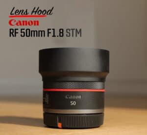 ฮูดเลนส์ Canon RF50mm F1.8 Metal Hood