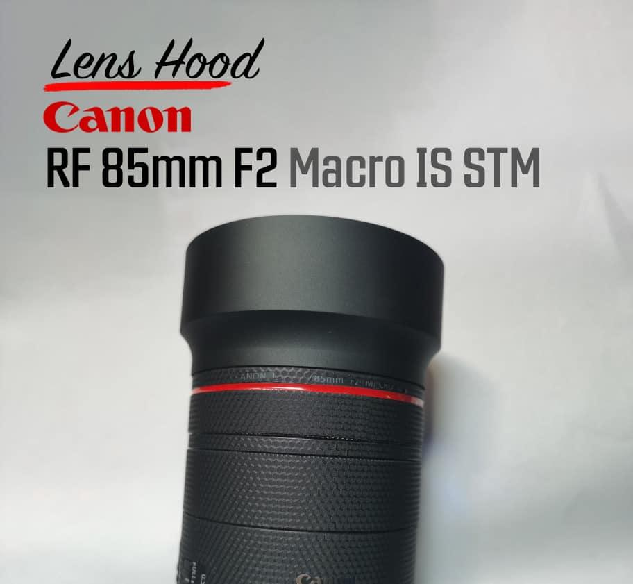ฮูดเลนส์ Canon RF85mm F2 Metal Hood