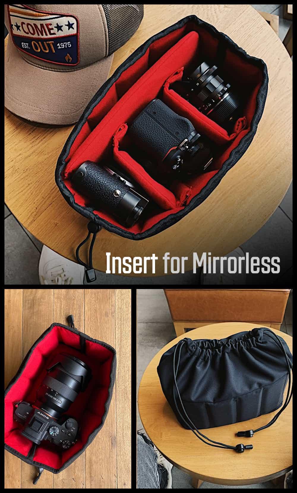อินเสิร์ทกล้อง Mirrorless Camera Partition King