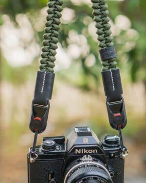 สายคล้องกล้อง Small Liberty Olive Large เส้นใหญ่ พร้อมหัวต่อ Peak Design