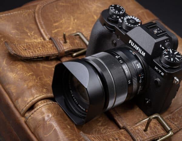 ฮูด Fuji 18-55mm f2.8-4 และ 14mm f2.8 จาก Haoge Lens Hood LH-X13B