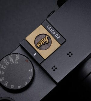 Hot Shoe Cover Leica Brass ปิดช่องแฟลช ทองเหลือง สีทอง Leica Q2 Q QP SL2S SL2 SL M10 M10P M10R M240