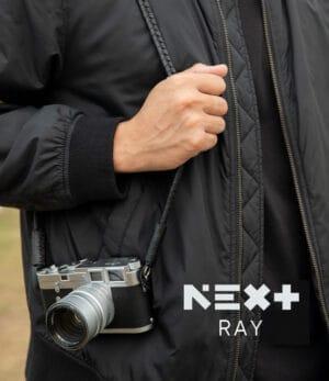 สายคล้องกล้อง Next RAY Black